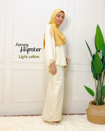 Kurung Hipster Light Yellow