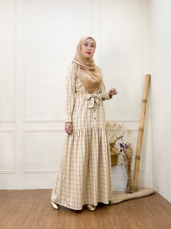 Clara Dress light brown