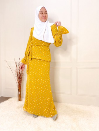 lolita set yellow mustard